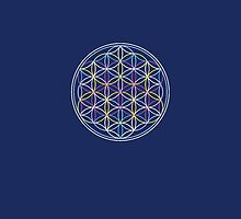 Flower of Life Phone Case by sparksandburns