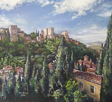 The Alhambra by Jon Barker