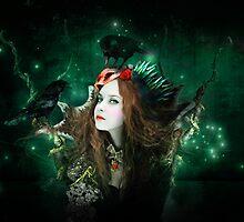 The witch in birds by Nessendyl