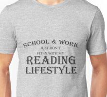 SCHOOL & WORK JUST DON'T FIT Unisex T-Shirt