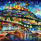 GREECE — LESBOS ISLAND by Leonid  Afremov