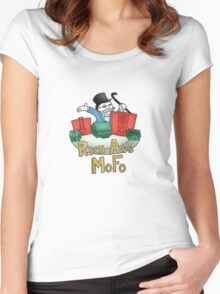 Rich Ass Mofo Shirt Women's Fitted Scoop T-Shirt