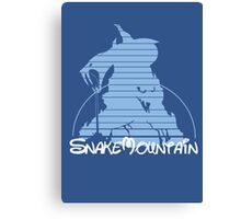 Visit Snake Mountain Canvas Print