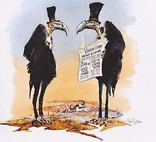 Vulture Times by RoseRigden