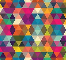 Abstract stylish pattern design by AlexandraDzh