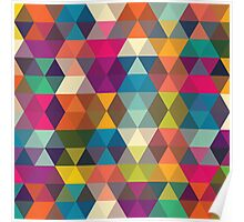 Abstract stylish pattern design Poster