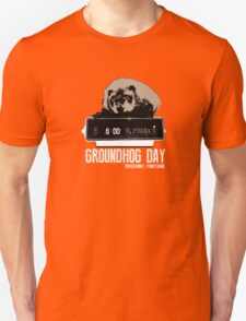 Groundhog Day  Alarm Clock  Punxsutawney Color T-shirt Unisex T-Shirt