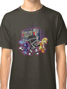 Old Skool 80s Cartoon B Boys (and girl) Classic T-Shirt