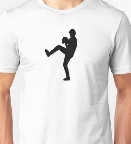 Baseball pitcher Unisex T-Shirt