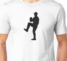 Baseball player pitcher Unisex T-Shirt