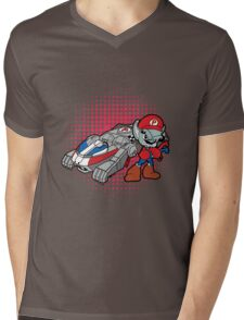 Panthro Kart Mens V-Neck T-Shirt