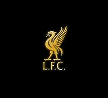 Liverpool FC - Gold by ThomasCainStock