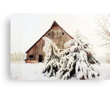 First Snow Fall Metal Print