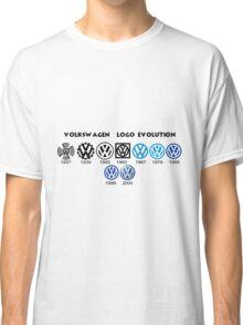 Volkswagen Logo Evolution Classic T-Shirt