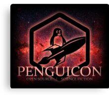 Ltd Edition Red Penguicon Galaxy Canvas Print
