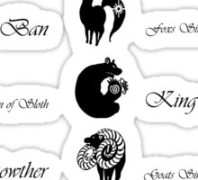 Seven Deadly Sins Sticker