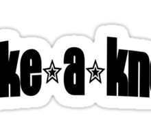 Take a Knee Sticker