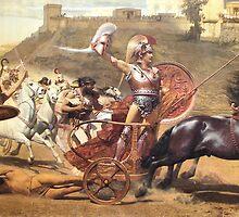 Triumphant Achilles by troycap