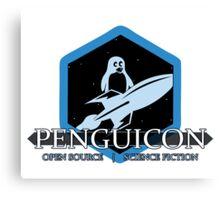Classic Penguicon logo Canvas Print