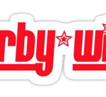 Derby Wife Sticker