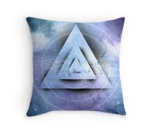Futuristic Abstract Throw Pillow