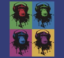 Monkey Warhol by dibsterscown