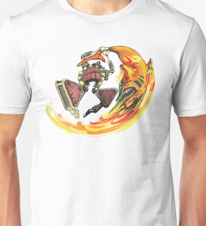 Insane Warriors - Shark Vielding Robot Unisex T-Shirt