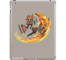 Insane Warriors - Shark Vielding Robot iPad Case/Skin