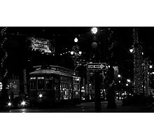 Canal Street Trolley Photographic Print