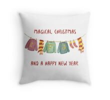 from weasley family to you Throw Pillow