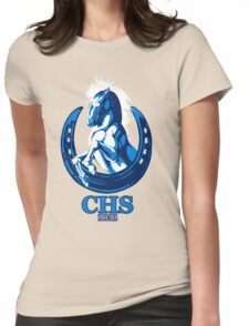 CHS Class of 2004 Zip Up Womens Fitted T-Shirt