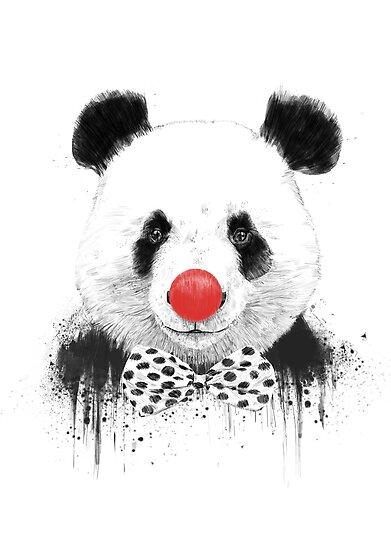 Clown panda by soltib