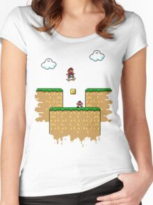 Super Ollie Bros Women's Fitted Scoop T-Shirt