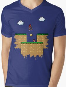 Super Ollie Bros Mens V-Neck T-Shirt