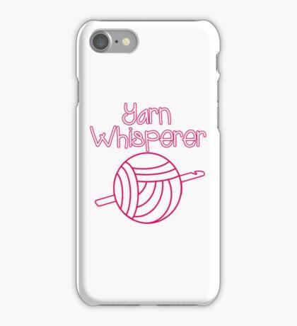 Yarn Whisperer iPhone Case/Skin