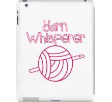 Yarn Whisperer iPad Case/Skin