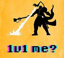 #1v1 me? by brendonbusuttil