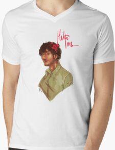 Help Mens V-Neck T-Shirt