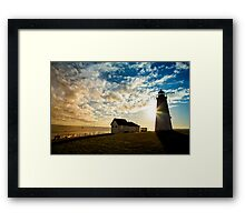 Port Judith Framed Print