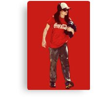 Cola Girl Canvas Print