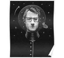 Modern Man in Outer Space Poster