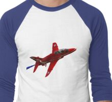 The RAF Red Arrows Display Team Men's Baseball ¾ T-Shirt