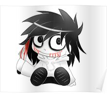 Chibi Jeff The Killer Poster