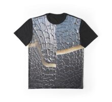 Cracked and Wrinkled Graphic T-Shirt