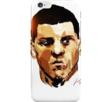 Nick Diaz iPhone Case/Skin