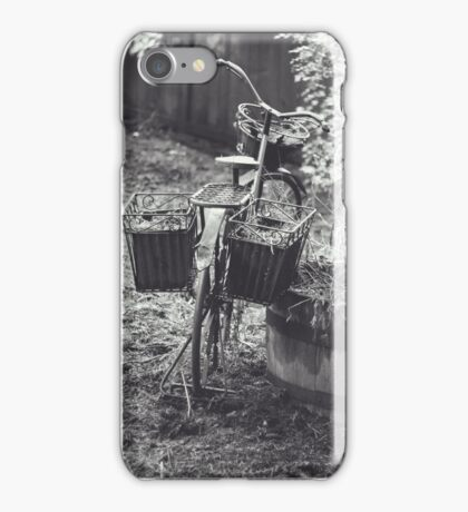 Garden Bike iPhone Case/Skin