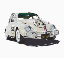 Herbie The Beetle Baby Tee