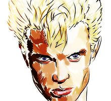 Billy Idol  by konart