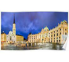 Michaelerplatz in Vienna, Austria Poster