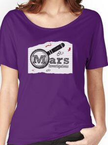 Mars Investigations Women's Relaxed Fit T-Shirt